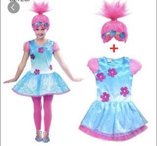 Princess Poppy Troll Costume