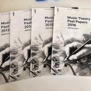 ABRSM MUSIC THEORY PAPERS(BRAND NEW)