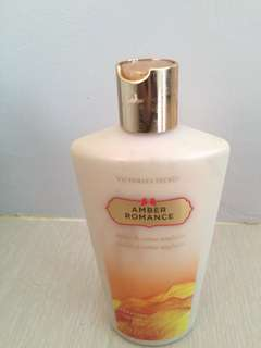 Authentic Victoria's Secret Amber Romance Lotion