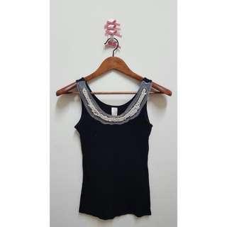 [KOREA]質感珠飾背心☻
