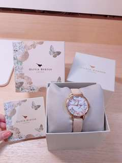 Olivia Burton London authentic pink floral watches