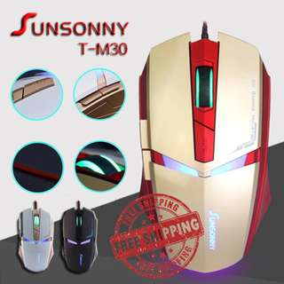 SunSonny 'Iron Man' Wired Gaming Mouse