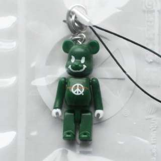 50% Peace Project Green Bearbrick (MISB) + FREE Registered Mail