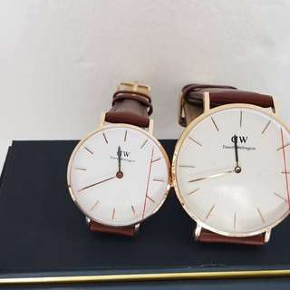 DW Watch couple