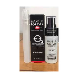 MAKE UP FOR EVER/MUFE Mist & Fix - Share