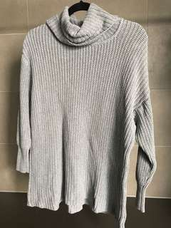 AMERICAN APPAREL grey knit jumper