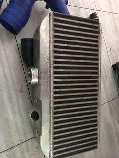 Subaru TOP intercooler  hyperflow with Cobb blow off valve