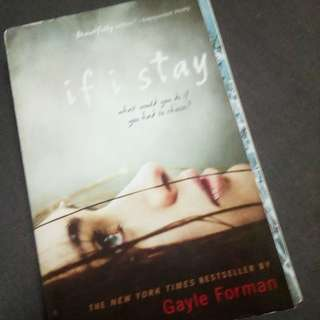If I Stay and Where She Went By Gayle Foreman
