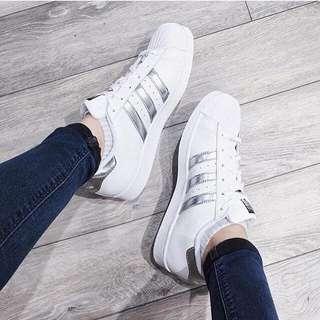 #adidas #superstar #銀標