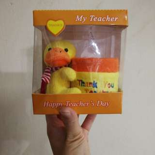 Duck pen holder - teacher's day gift