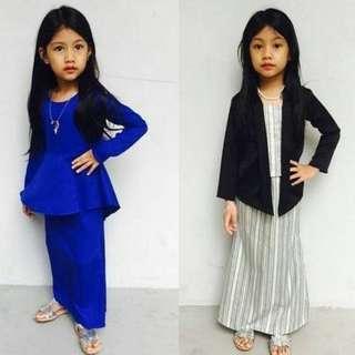 Peplum and kebaya kid by redniraz