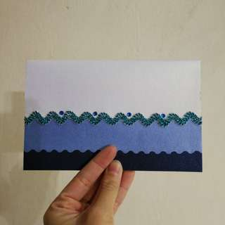 Hand painted Lined notebook