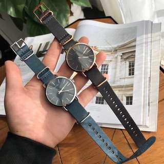 Big Sale ! 大減價!正品Authentic! CK Watch !織帶手錶