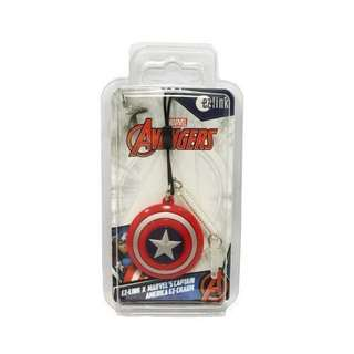 Brand New EZ Link Charm Marvel Avengers Captain America Shield