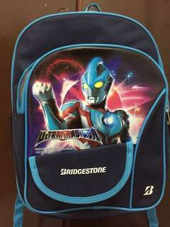 Ultraman school bag