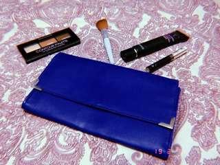 Navy Blue Formal Wallet