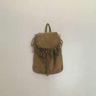 Terranova Fringed Backpack