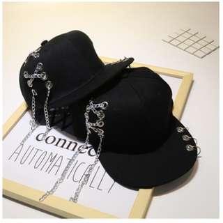 !Hip-Hop Cross Chain Style Hat!