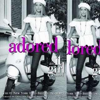 Adored (It Girl, #8) by Cecily von Ziegesar