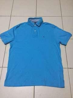 Tommy Hilfiger Polo Shirt (Sky Blue)