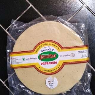 印度烤餅Paped (蒜辣味) 500g