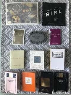 12 pcs Perfume Sample