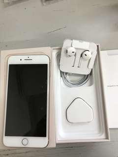 99%New UK Apple iPhone 8 Plus 64GB Gold, Warranty date 18-2-2019