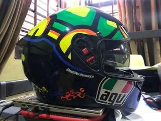 Helmet agv turtle K-3