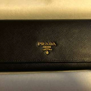 Prada Wallet Black