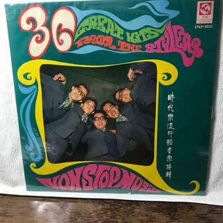 """The Stylers Instrumental 12"""" LP Record - Title : English 36 Great Hits - Please refer to the record covers."""