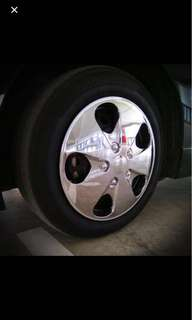 "15"" VIP chrome wheel cap Replacement"