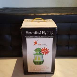Mosquito and fly trap