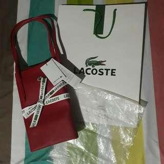 Authentic Lacoste Medium Bag for Sale