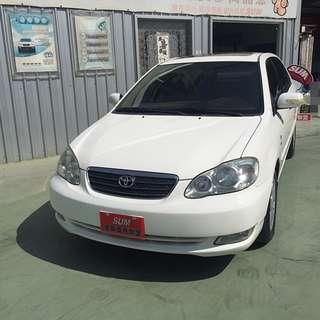 【SUM尼克汽車】2005 Toyota豐田 Corolla Altis 1.8L
