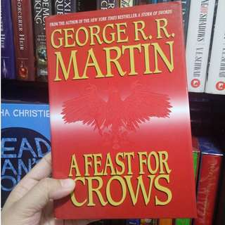 A Feast for Crows (A Song of Ice and Fire, #4) George R R Martin Hardcover