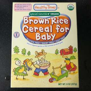 ⚡️Sale⚡️ Healthy Times Brown Rice Cereal