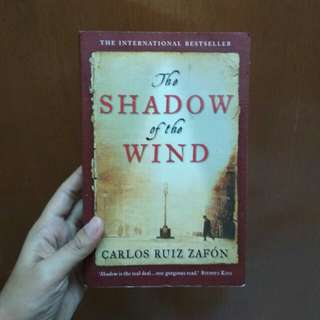 The Shadow Of The Wind - Carlos Ruiz Zafon