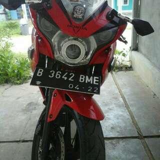 CBR cbu thailand 150cc, 2012