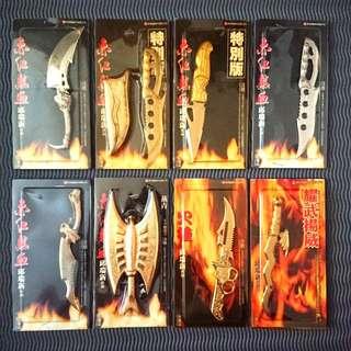 BN Comic Sword Collectibles 邱瑞新漫画