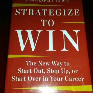 Strategize To Win - CHARLA A. HARRIES #swap