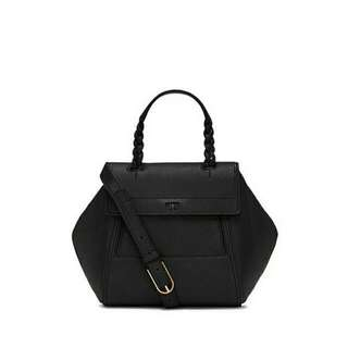 Ready authentic ori TORYBURCH halfmoon small satchel