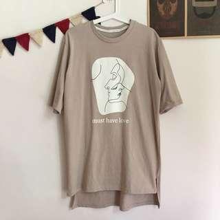 正韓 抽象設計款T袖