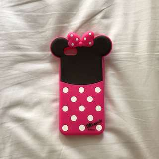 Minnie case for iphone 5/5s bahan karet