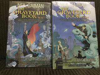The Graveyard Book Graphic Novels