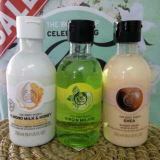 The body shop shower gel Sabun mandi