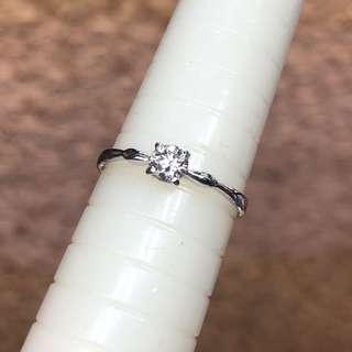 Pt 900 diamond ring 💍