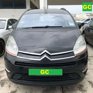 Citroen Grand C4 Picasso CHEAPEST RENT FOR Grab/Uber
