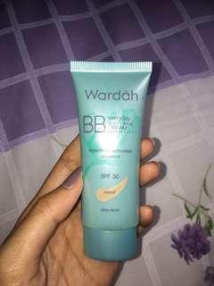 Wardah BB Everyday Beauty Balm Cream Shade Natural Preloved