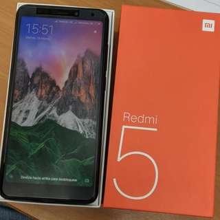 "Global Version Xiaomi Redmi 5 3GB RAM 32GB ROM 5.7"" 18:9 Full Screen Smartphone Snapdragon 450 Fingerprint Redmi5 MIUI 9 3300mAh"