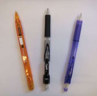 Pentel Pencil 0.5 (Black , Orange, Blue) Pentel 鉛筆 鉛芯筆 0.5mm